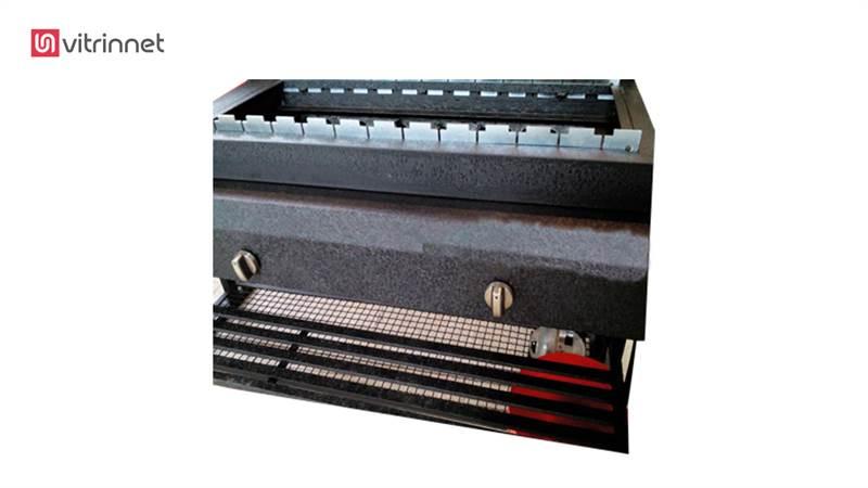 دستگاه باربیکیو ذغالی سایز 80