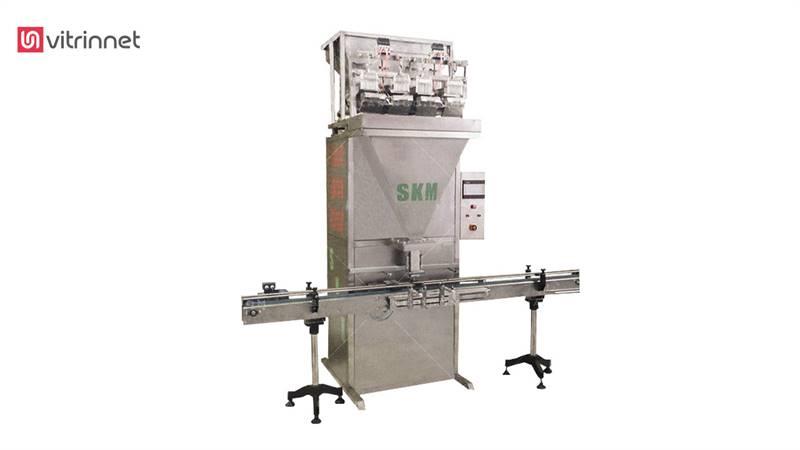 دستگاه قوطی پرکن چهار توزین گرانولی SKM-۱۲۰۴