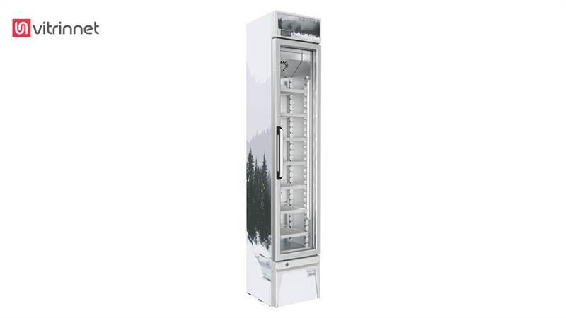 یخچال ویترینی تک درب زیمان مدل VR105 L