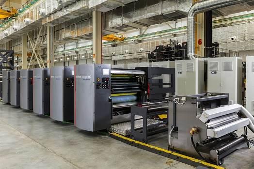 دستگاه چاپ افست رول برای بسته بندی مدل دیوو استریم