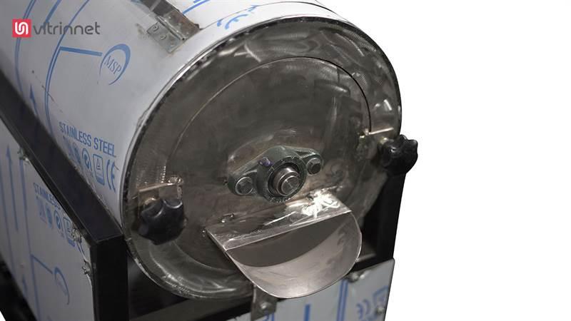 دستگاه آب گوجه گیری 1 تن لوکوموتیوی