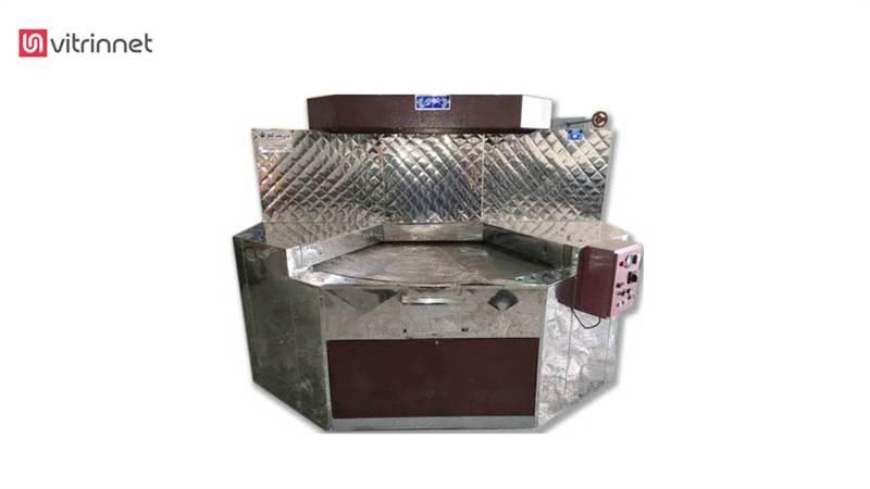 دستگاه گردان حرارت غیر مستقیم پخت نان