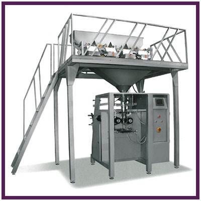 دستگاه بسته بندی گرانولی چهار توزین مدل TSS BG 400