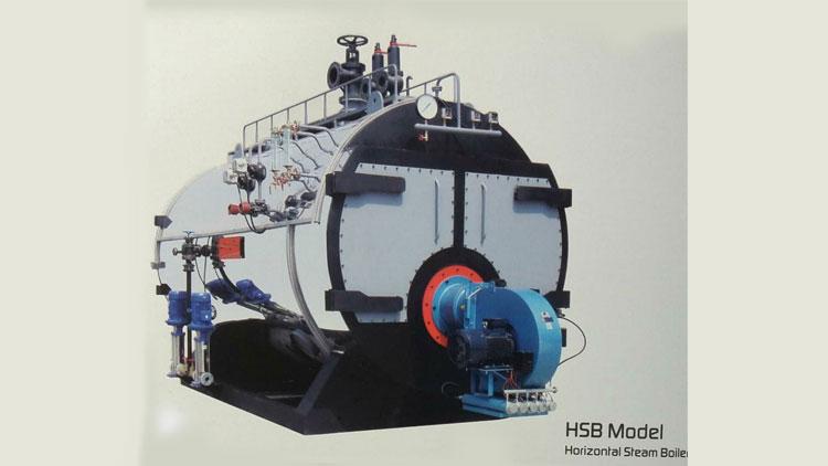 دیگ بخار مدل HSB , دیگ بخار