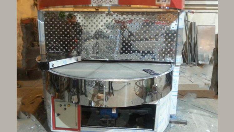 دستگاه گردان سيار تمام استیل پخت نان