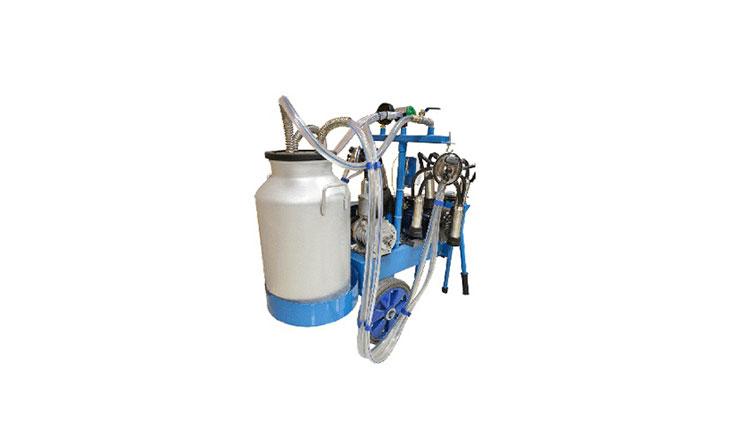 دستگاه شير دوش دو واحد تک بيدون آلمينيومی , دستگاه شیردوش گاو
