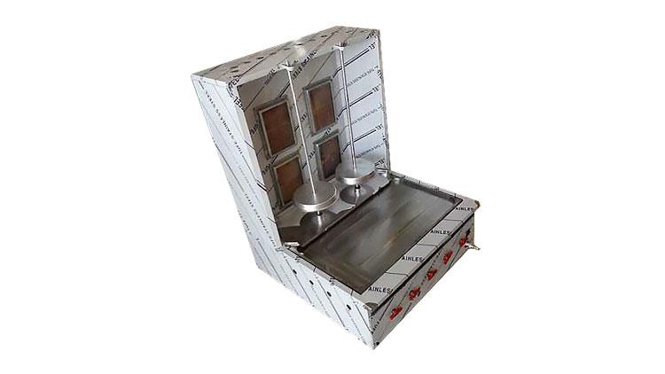 دستگاه کباب ترکی دو سیخ رومیزی  , تجهیزات آشپزخانه صنعتی