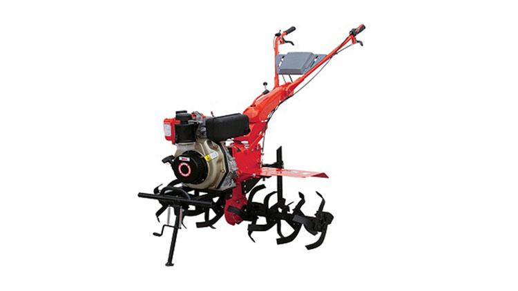 تیلرکلتیواتور دیزلی هندلی 7 اسب با موتور 178F با گیربکس شافت مستقیم