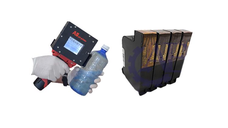 جت پرینتر دستی پرتابل سنسور دار وکارتریج 45 HP پایه الکل