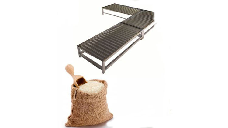 سکوی نگهداری برنج و حبوبات