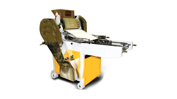 دستگاه چاپ و تولید بیسکوئیت و شیرینی های جفتی (آلمانی و عسلی)  با مولدینگ ۴۰ سانتی متری