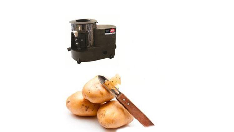 دستگاه سیب زمینی پوست کن رومیزی