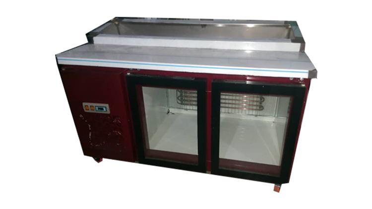 تاپینگ یخچال دار رنگی 100