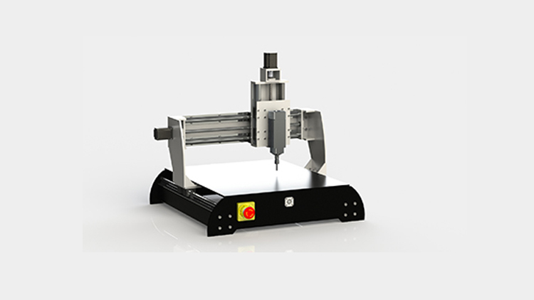 سی ان سی چوب مینی مدل vcw4040 , دستگاه CNC