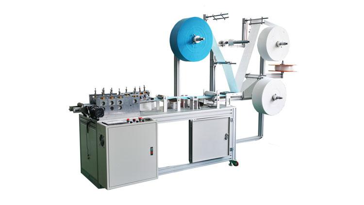 دستگاه تولید ماسک نیمه اتوماتیک سه تا شش لایه مدل A101 , ماشین آلات تولید پوشاک بیمارستانی و یکبار مصرف