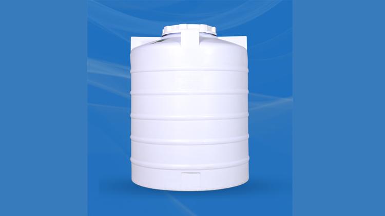 مخزن عمودی 2000 لیتری سه لایه , مخزن آب ساختمان