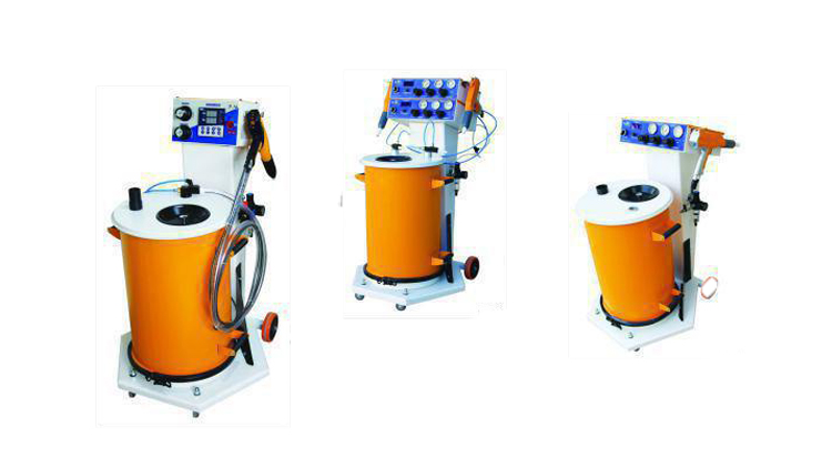 رنگپاش پودری الکترو استاتیک