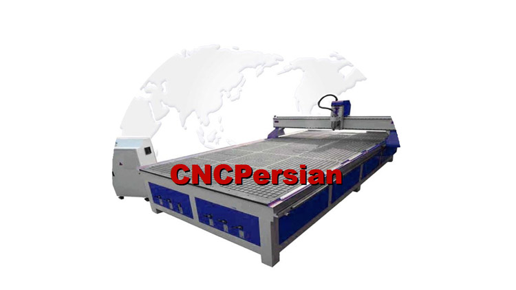 دستگاه سی ان سی سه بعدی , دستگاه CNC