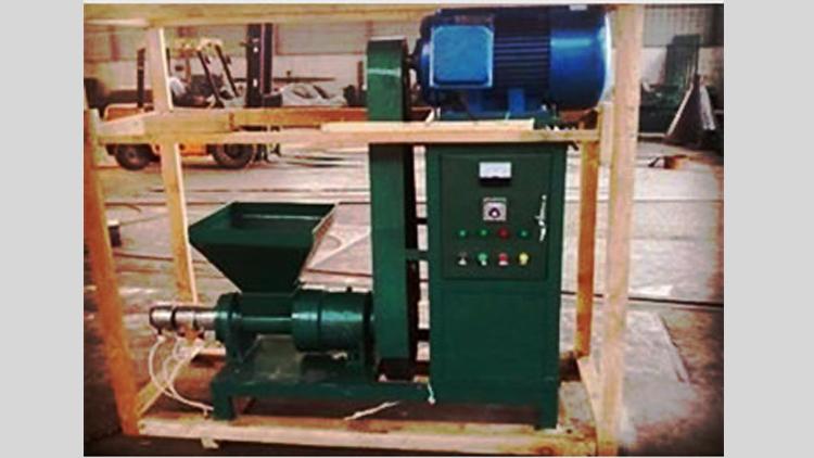 دستگاه تولید ذغال فشرده , دستگاه و خط تولید زغال