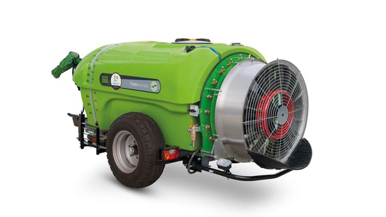 سمپاش 2000 لیتری توربین باغی فن گرد