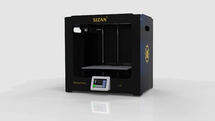 پرینتر سه بعدی مدل سی زان چهار دسکتاپ , پرینتر سه بعدی