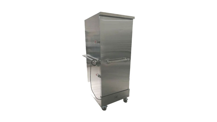گرمخانه سیار غذا (ترولی بنکوئیت چرخدار)