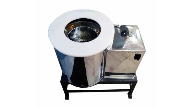 دستگاه آبگیر سبزیجات و روغن گیر پیاز داغ 12 کیلویی