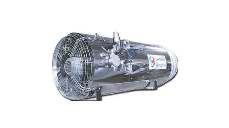 هیتر جت دوگانه سوز تک فن بدون دودکش ARGO100 , سیستم گرمایشی گلخانه