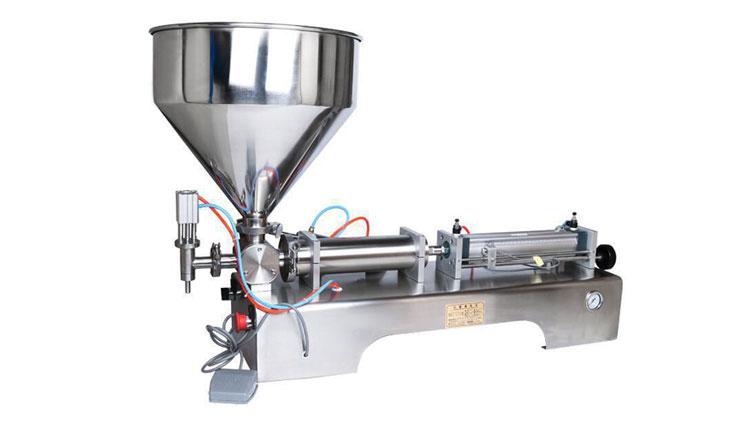 دستگاه پرکن مایعات غلیظ پنوماتیک روغن 50 تا 500 مدل 21545