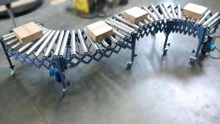 کانوایر آکاردئونی 4 ماژوله موتور دار