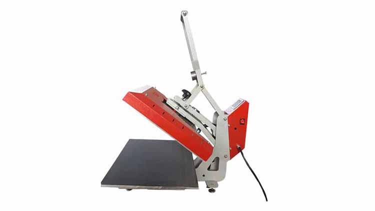 دستگاه پرس حرارتی نیمه اتوماتیک دومیز , صنایع نساجی و بافندگی