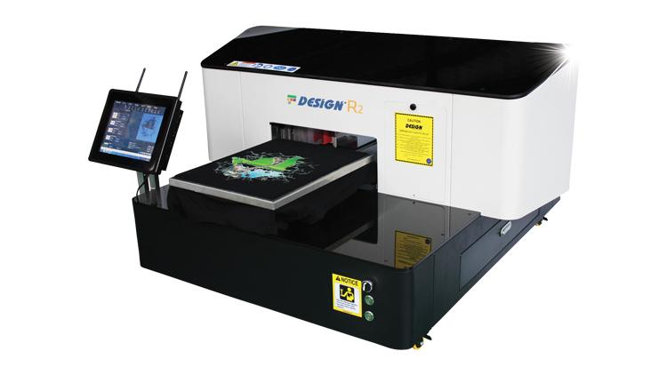 دستگاه چاپ تیشرت مدل R2  , ماشین آلات چاپ