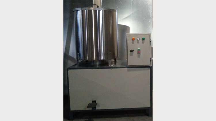 دستگاه آبگیری سانتریفیوژ چرخشی  , دستگاه آبگیر سانتریفیوژ