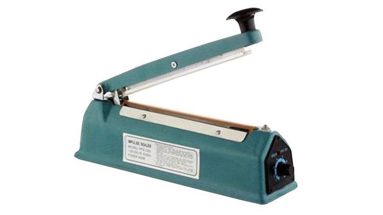 دستگاه دوخت پلاستیک دستی کاتردار چینی 30 سانت (2 میلیمتر) , دستگاه دوخت پلاستیک رومیزی