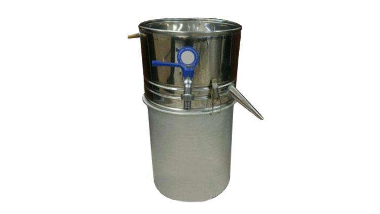 دستگاه عرق گیری سایز دو 20 لیتری با بست و واشر  , دستگاه عرق گیری (دستگاه تقطیر)