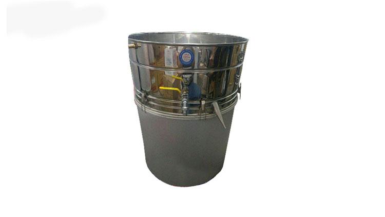 دستگاه عرق گیری سایز هفت 120 لیتری با بست و واشر