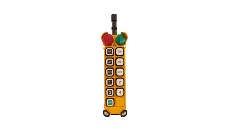 ریموت کنترل از راه دور صنعتی تله کرین  F24-10D , ریموت کنترل