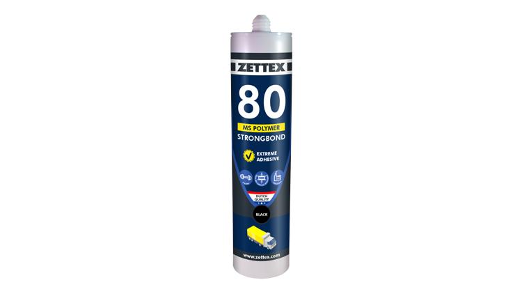 درزگیر  MS80 polymer مشکی زتکس , درزگیر
