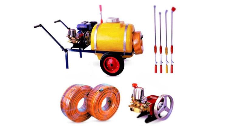سمپاش موتوری مخزن دار , دستگاه سمپاش و لوازم سمپاشی