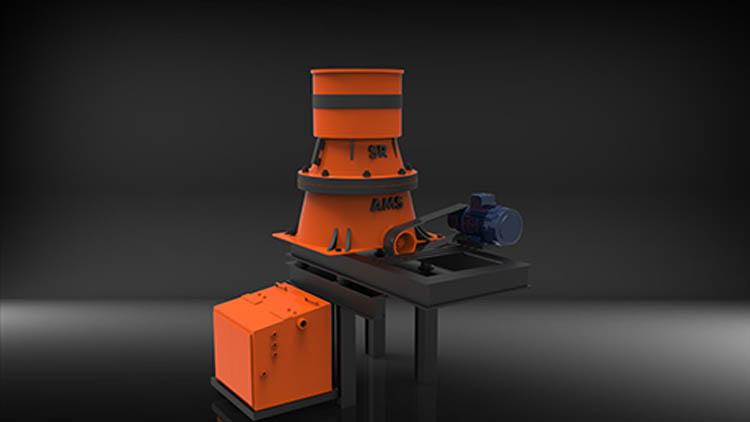 سنگ شکن هیدروکن مدل SC-36x2 , دستگاه سنگ شکن