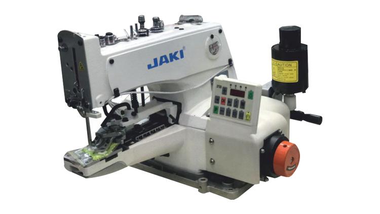 چرخ دکمه دوز موتورسرخود کامپیوتری جکی مدل 1377D , ماشین آلات نساجی و بافندگی