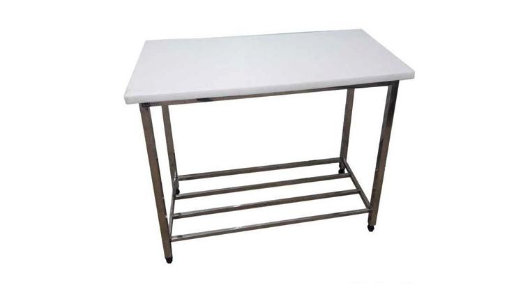 میز کار استیل یک و نه دهم متری  , تجهیزات آماده سازی رستوران و آشپزخانه