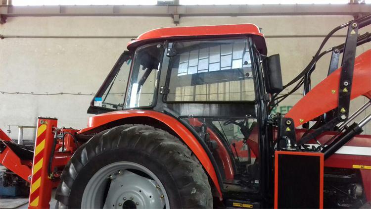 کابین تراکتور با گلگیر , کابین ماشین آلات کشاورزی