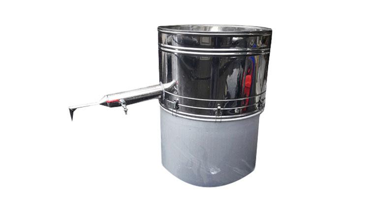 دستگاه عرق گیری لوله بلند دو جداره 10 لیتری (تحویل 10 روزه) , دستگاه عرق گیری (دستگاه تقطیر)