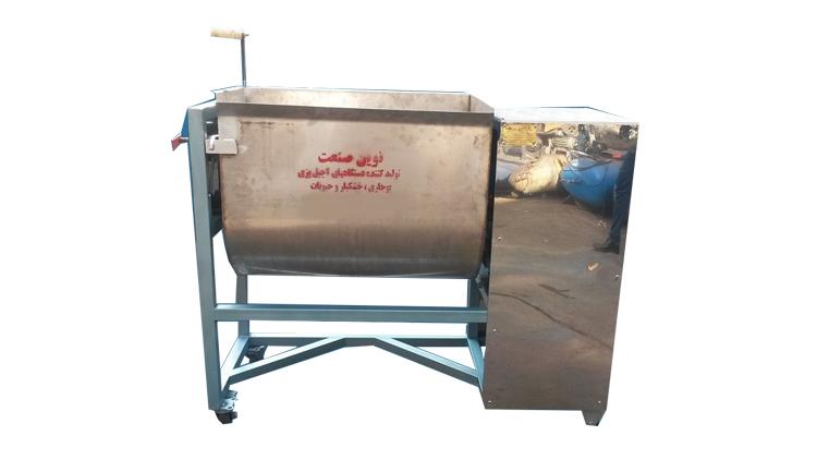 دستگاه شور کن و طعم زن آجیل و تخمه  , دستگاه پخت و تفت آجیل و خشکبار