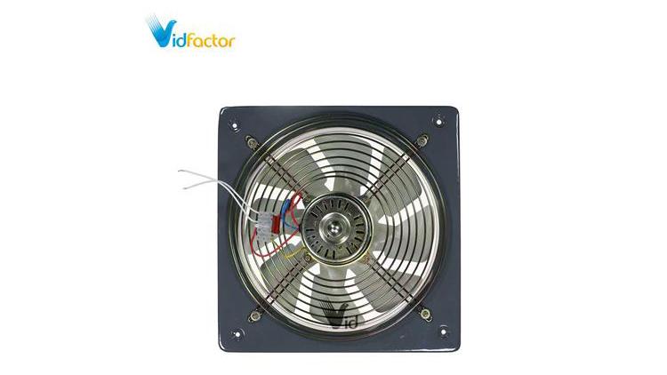 هواکش فلزی خانگی 25سانت دمنده VMA-25C4S , تاسیسات حرارتی و برودتی