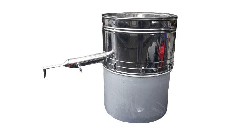 دستگاه عرق گیری لوله بلند دو جداره عرق سرد کن دار 19 لیتری , دستگاه عرق گیری (دستگاه تقطیر)
