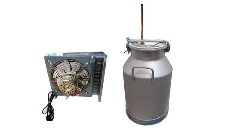 دستگاه عرقگیری 25 لیتری تک چفت با کندانسور برقی (تحویل 10 روزه) , دستگاه عرق گیری (دستگاه تقطیر)