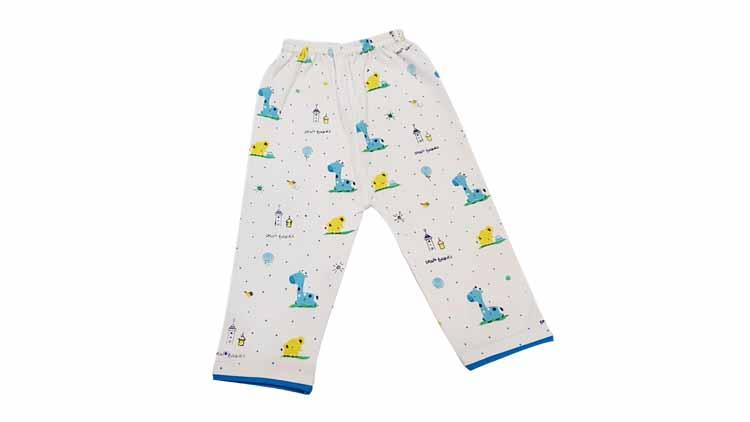 شلوار نوزادی طرح فیل و زرافه  , پوشاک بچهگانه