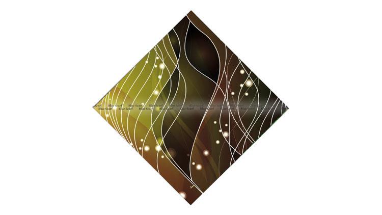روسری نخی دور ریش سبک سازی شده کد 8042011